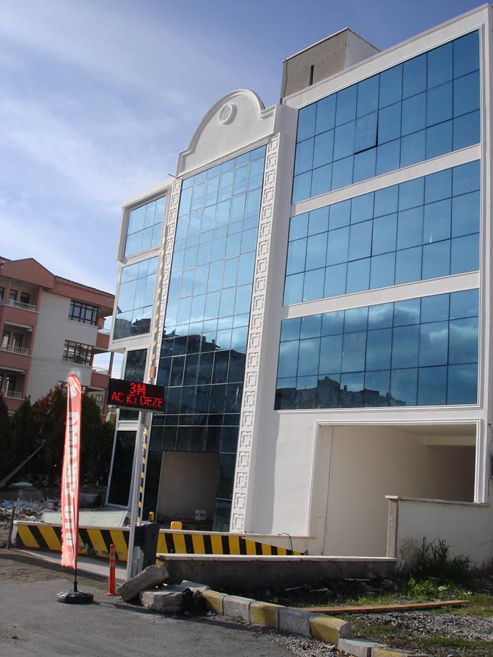 GNT İNŞAAT -ANKARA ( Güvercinlik Tesisleri 2 adet Tip Nizamiye ve Ürün Satış Ofisi)